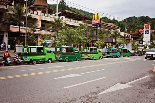 Tuk-Tuks and McDonald's...what else could a island in Thailand need?