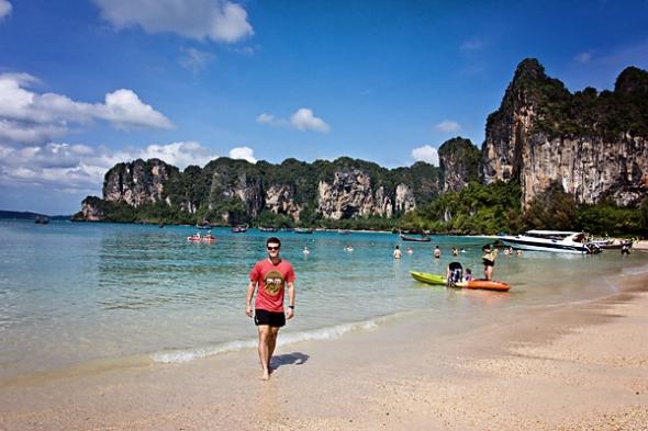 Dan at Rai Lay Beach Thailand