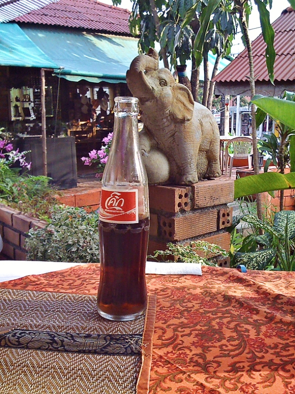 Even elephants love Coke!