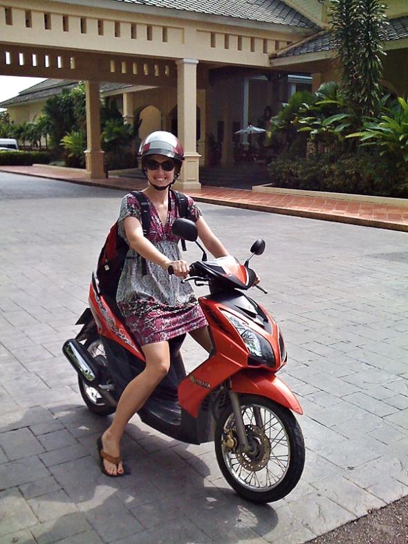 I love motorbikes!